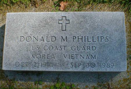 PHILLIPS, DONALD M. - Cerro Gordo County, Iowa | DONALD M. PHILLIPS