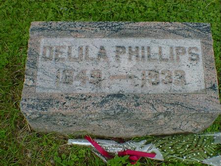 PHILLIPS, DELILA - Cerro Gordo County, Iowa | DELILA PHILLIPS
