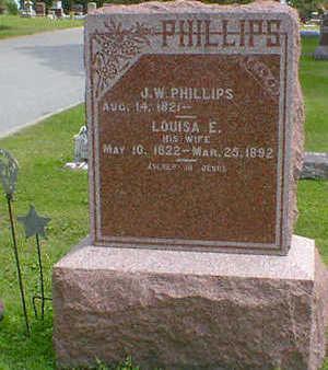 PHILLIPS, LOUISA E. - Cerro Gordo County, Iowa   LOUISA E. PHILLIPS
