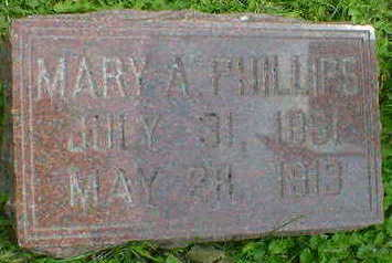 PHILLIPS, MARY A. - Cerro Gordo County, Iowa   MARY A. PHILLIPS