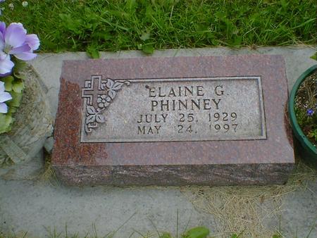 PHINNEY, ELAINE GRACE (HARRINGTON) - Cerro Gordo County, Iowa | ELAINE GRACE (HARRINGTON) PHINNEY