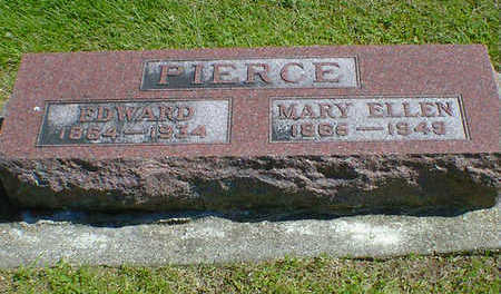 PIERCE, MARY ELLEN - Cerro Gordo County, Iowa | MARY ELLEN PIERCE