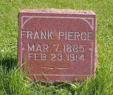 PIERCE, FRANK - Cerro Gordo County, Iowa | FRANK PIERCE