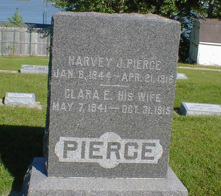 PIERCE, HARVEY J. - Cerro Gordo County, Iowa | HARVEY J. PIERCE