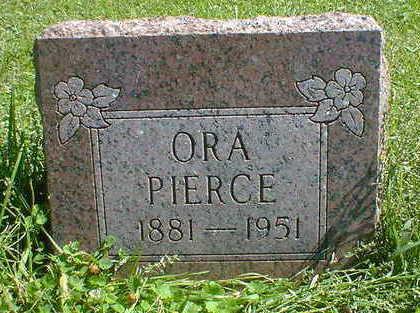 PIERCE, ORA - Cerro Gordo County, Iowa | ORA PIERCE
