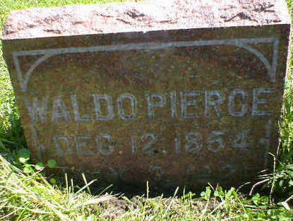 PIERCE, WALDO - Cerro Gordo County, Iowa | WALDO PIERCE