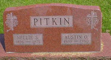 PITKIN, NELLIE S. - Cerro Gordo County, Iowa | NELLIE S. PITKIN