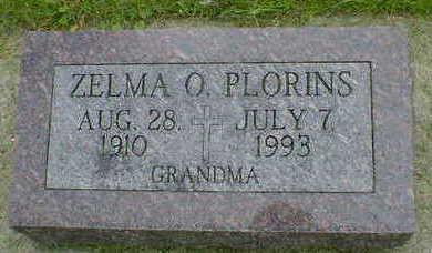 PLORINS, ZELMA O. - Cerro Gordo County, Iowa | ZELMA O. PLORINS