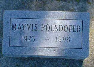 POLSDOFER, MAYVIS - Cerro Gordo County, Iowa | MAYVIS POLSDOFER