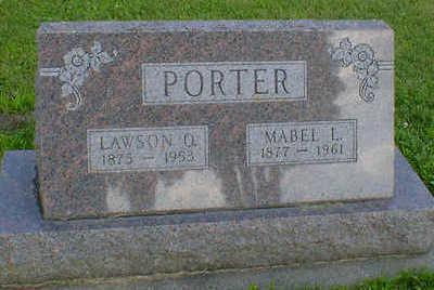 PORTER, LAWSON O. - Cerro Gordo County, Iowa | LAWSON O. PORTER