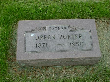 PORTER, ORREN - Cerro Gordo County, Iowa | ORREN PORTER