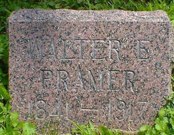 PRAMER, WALTER E. - Cerro Gordo County, Iowa | WALTER E. PRAMER
