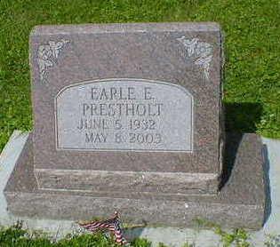 PRESTHOLT, EARLE E. - Cerro Gordo County, Iowa | EARLE E. PRESTHOLT