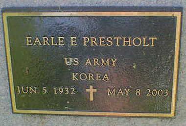 PRESTHOLT, EARLE E. - Cerro Gordo County, Iowa   EARLE E. PRESTHOLT