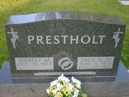 PRESTHOLT, JACK N. SR - Cerro Gordo County, Iowa | JACK N. SR PRESTHOLT