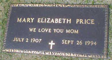 PRICE, MARY ELIZABETH CARRIS - Cerro Gordo County, Iowa | MARY ELIZABETH CARRIS PRICE