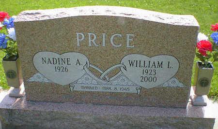 PRICE, WILLIAM L. - Cerro Gordo County, Iowa   WILLIAM L. PRICE