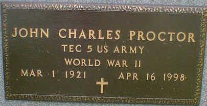 PROCTOR, JOHN CHARLES - Cerro Gordo County, Iowa | JOHN CHARLES PROCTOR