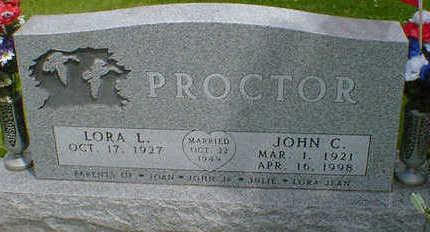 PROCTOR, JOHN C. - Cerro Gordo County, Iowa | JOHN C. PROCTOR