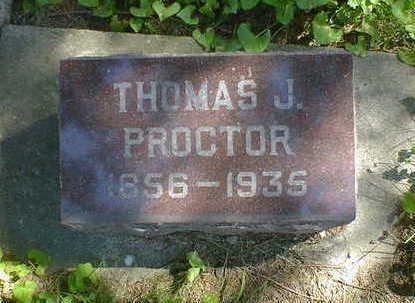 PROCTOR, THOMAS J. - Cerro Gordo County, Iowa | THOMAS J. PROCTOR
