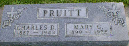 PRUITT, MARY CATHERINE (DINGER) - Cerro Gordo County, Iowa | MARY CATHERINE (DINGER) PRUITT