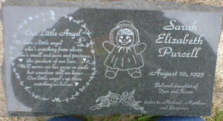 PURCELL, SARAH ELIZABETH - Cerro Gordo County, Iowa   SARAH ELIZABETH PURCELL