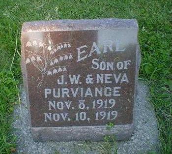 PURVIANCE, EARL - Cerro Gordo County, Iowa | EARL PURVIANCE