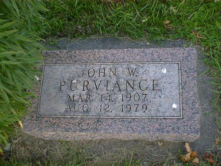 PURVIANCE, JOHN WILLIAM - Cerro Gordo County, Iowa | JOHN WILLIAM PURVIANCE
