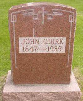 QUIRK, JOHN - Cerro Gordo County, Iowa   JOHN QUIRK