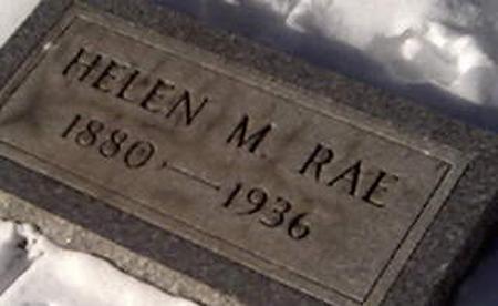RAE, HELEN - Cerro Gordo County, Iowa | HELEN RAE