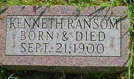 RANSOM, KENNETH - Cerro Gordo County, Iowa | KENNETH RANSOM