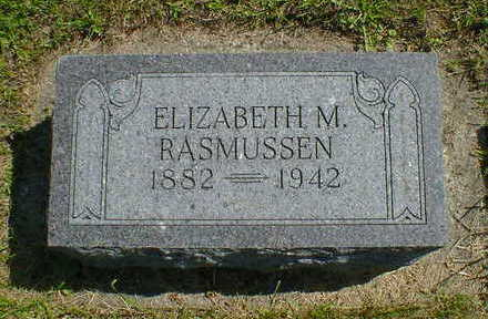 RASMUSSEN,  ELIZABETH M. - Cerro Gordo County, Iowa    ELIZABETH M. RASMUSSEN
