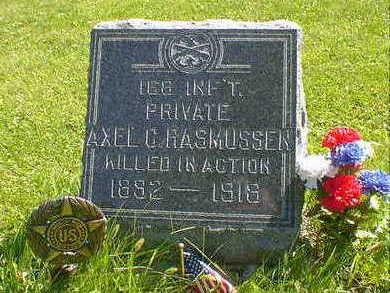 RASMUSSEN, AXEL C. - Cerro Gordo County, Iowa | AXEL C. RASMUSSEN