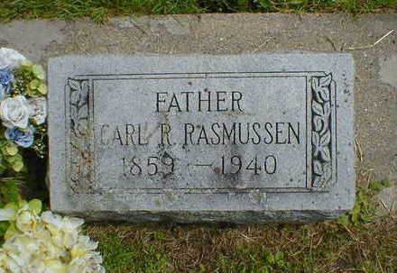 RASMUSSEN, CARL R. - Cerro Gordo County, Iowa   CARL R. RASMUSSEN