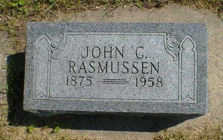 RASMUSSEN, JOHN C. - Cerro Gordo County, Iowa   JOHN C. RASMUSSEN