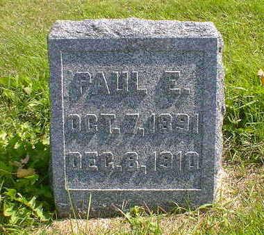 RASMUSSEN, PAUL E. - Cerro Gordo County, Iowa | PAUL E. RASMUSSEN