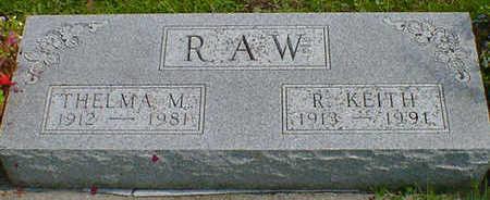 RAW, R. KEITH - Cerro Gordo County, Iowa | R. KEITH RAW