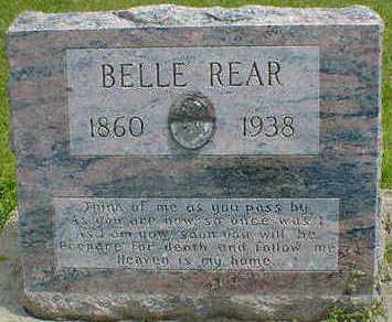 REAR, BELLE - Cerro Gordo County, Iowa | BELLE REAR