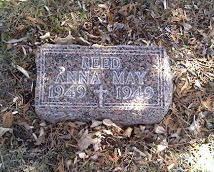 REED, ANNA MAY - Cerro Gordo County, Iowa | ANNA MAY REED