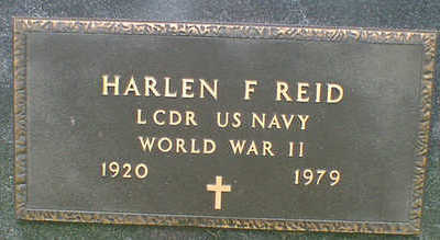 REID, HARLAN F. - Cerro Gordo County, Iowa   HARLAN F. REID
