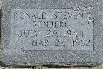 RENBERG, RONALD STEVEN - Cerro Gordo County, Iowa | RONALD STEVEN RENBERG