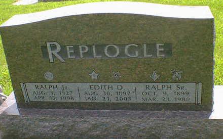 REPLOGLE, RALPH SR. - Cerro Gordo County, Iowa | RALPH SR. REPLOGLE