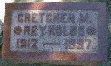 REYNOLDS, GRETCHEN M. - Cerro Gordo County, Iowa | GRETCHEN M. REYNOLDS