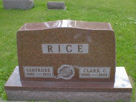RICE, GERTRUDE - Cerro Gordo County, Iowa | GERTRUDE RICE