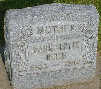 RICE, MARGUERITE - Cerro Gordo County, Iowa | MARGUERITE RICE
