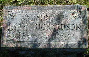 RICHARDSON, GRANT - Cerro Gordo County, Iowa   GRANT RICHARDSON