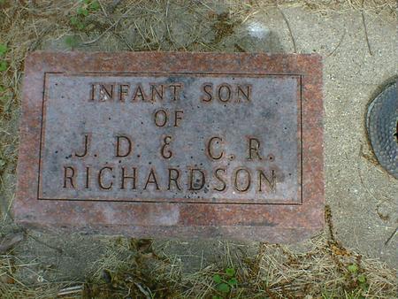 RICHARDSON, INFANT - Cerro Gordo County, Iowa | INFANT RICHARDSON