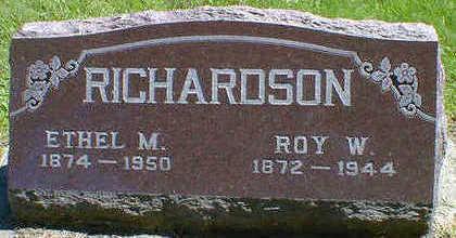 RICHARDSON, ETHEL M. - Cerro Gordo County, Iowa | ETHEL M. RICHARDSON