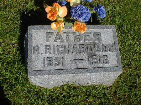 RICHARDSON, R. - Cerro Gordo County, Iowa | R. RICHARDSON