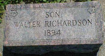 RICHARDSON, WALTER - Cerro Gordo County, Iowa | WALTER RICHARDSON